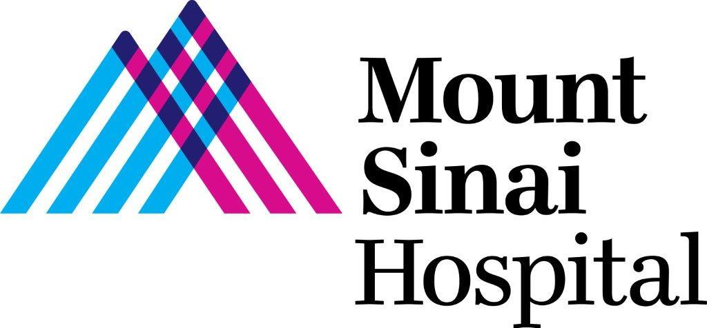 Mount Sinai Hospital logo.