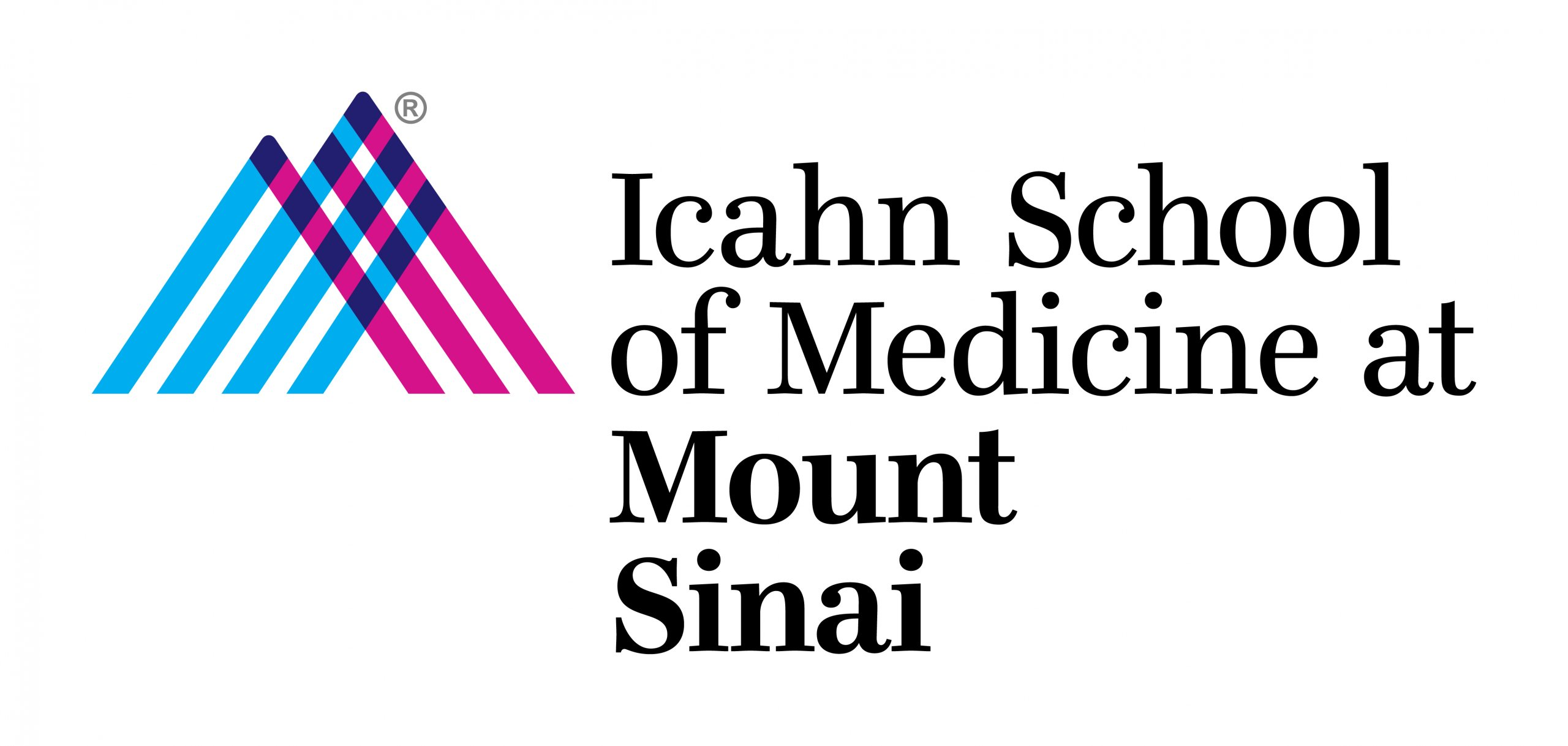 Icahn School of Medicine at Mount Sinai logo.