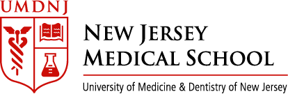New Jersey Medical School. University of Medicine & Dentistry of New Jersey logo.