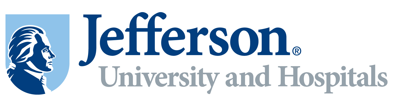 Jefferson University and Hospitals logo.