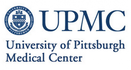 UPMC University of Pittsburgh Medical Center logo.