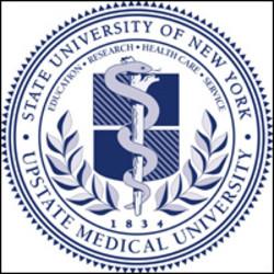 Upstate Medical University. State University of New York seal.